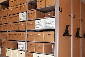 Shelving and storage for Government documents