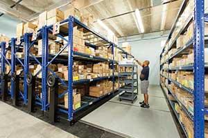 Manufacturing Storage shelving