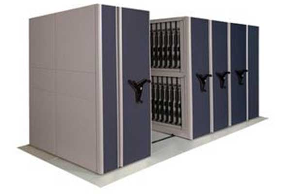 Movable storage for weapons to maximize storage space for law enforcement and military
