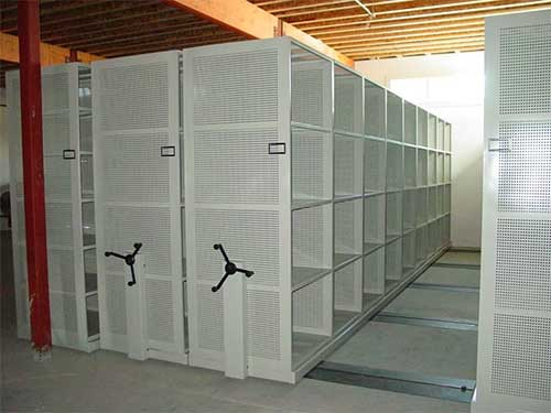 Movable storage option