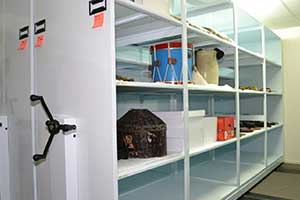 Shelving and storage examples for museums and libraries