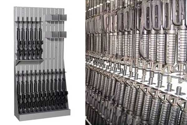 Weapons storage for law enforcement